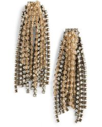 Serefina - Crystal Statement Earrings - Lyst