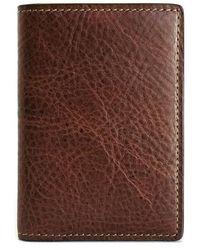 Boconi - Caleb Leather Folding Card Case - - Lyst