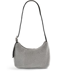 3b9ada0697cd9 TOPSHOP - Diana Crystal Embellished Shoulder Bag - Metallic - Lyst