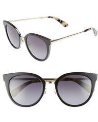 Kate Spade | Jazzlyn 51mm Cat Eye Sunglasses | Lyst