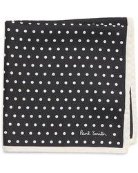 Paul Smith - Polka Dot Silk Pocket Square - Lyst
