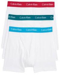 CALVIN KLEIN 205W39NYC - 3-pack Boxer Briefs, White - Lyst
