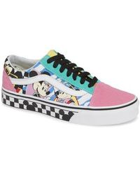 Vans - X Disney Mickey Mouse Ua Old Skool Low-top Sneaker - Lyst