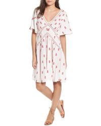 Raga - Ruby Embroidered Dress - Lyst
