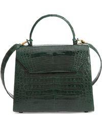 Nancy Gonzalez - Medium Lily Genuine Crocodile Crossbody Bag - - Lyst