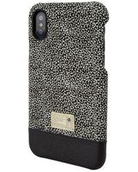 Hex - Focus Leather Iphone X Case - Lyst