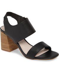 Kensie - Elianna Block Heel Sandal - Lyst