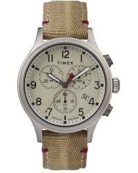 Timex - Timex Allied Canvas Strap Watch - Lyst
