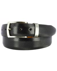 Remo Tulliani - Sylvio Millerighe Leather Belt - Lyst
