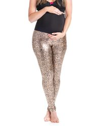 96c2817dc0becd Alo Yoga Airbrush Python-printed Sport Leggings in Gray - Lyst