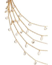 Ela Rae - Multistrand Cubic Zirconia Necklace - Lyst