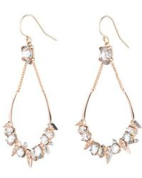 Alexis Bittar - Crystal Encrusted Mosaic Drop Earrings - Lyst