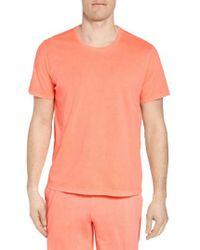 Daniel Buchler - Peruvian Pima Cotton V-neck T-shirt - Lyst