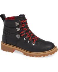 8b14fd8ed39 TOMS - Black Leather Weatherproof Women s Summit Boots - Lyst
