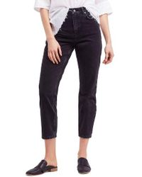 Free People - Mom Jeans - Lyst