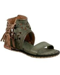 A.s.98 - Petrona Ankle Shield Sandal - Lyst