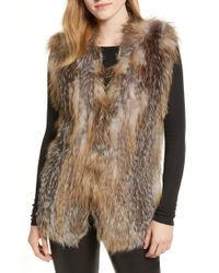 La Fiorentina - Genuine Fox Fur Vest - Lyst