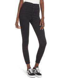 TOPSHOP - Joni High Waist Skinny Jeans - Lyst