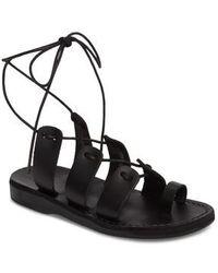 Jerusalem Sandals - Deborah Wraparound Laces Sandal - Lyst