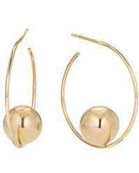 Lana Jewelry - Hollow Ball Small Hoop Earrings - Lyst