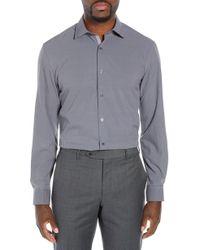 W.r.k. - Trim Fit 4-way Stretch Houndstooth Dress Shirt - Lyst