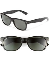 9ce20c2efd275 Ray-Ban -  new Small Wayfarer  55mm Polarized Sunglasses - Polarized Black -
