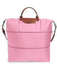 Longchamp - Le Pliage 21-inch Expandable Travel Bag - Lyst