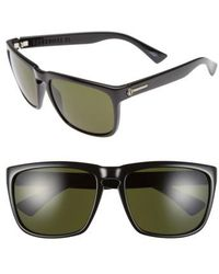 Electric - 'knoxville Xl' 61mm Sunglasses - Gloss Black/ Grey - Lyst