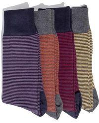 Hook + Albert - 4-pack Socks - Lyst