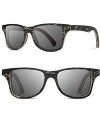 Shwood - Canby 55mm Polarized Cactus & Wood Sunglasses - Walnut / Gray - Lyst