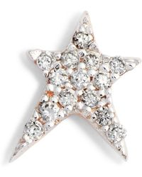 Kismet by Milka - Struck Diamond Stud Earring - Lyst