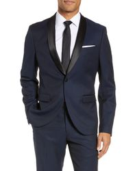 Calibrate - Extra Trim Fit Shawl Dinner Jacket - Lyst