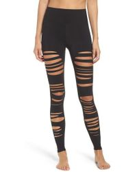 Alo Yoga | Extreme Ripped Warrior High Waist Leggings | Lyst