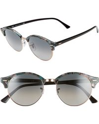 5e75ad034c Lyst - Ray-Ban Unisex Clubround Classic Rb4246 990 Non-polarized ...