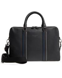 Ted Baker - Walave Leather Document Briefcase - Lyst