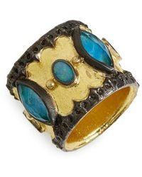 Armenta - Old World Cigar Band Ring - Lyst