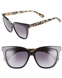 Kate Spade - Kahli 53mm Cat Eye Sunglasses - Lyst
