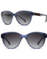 Shwood - 'madison' 54mm Polarized Sunglasses - - Lyst