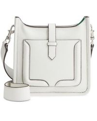 Rebecca Minkoff - Mini Unlined Leather Feed Bag - Lyst