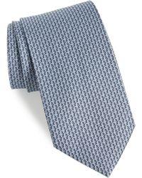 Ferragamo - Filo Print Silk Tie - Lyst