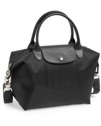 Longchamp - 'small Le Pliage Neo' Nylon Top Handle Tote - Lyst