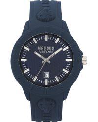 Versus - Versus By Versace Tokyo Silicone Strap Watch - Lyst