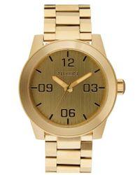 Nixon | 'the Corporal' Bracelet Watch | Lyst