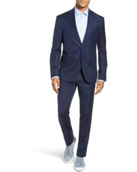 Ted Baker - Rove Slim Fit Solid Wool Suit - Lyst