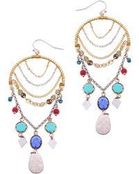 Nakamol - Arch Drop Earrings - Lyst