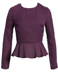 Line & Dot - Peplum Top - Lyst