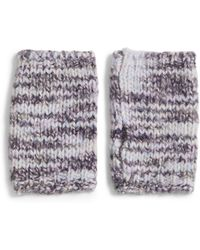 Eileen Fisher - Merino Wool & Silk Glovelettes - Lyst