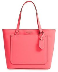 Kate Spade - Thompson Street - Kimberly Leather Tote - Lyst