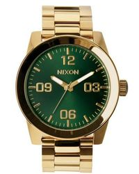 Nixon | 'the Corporal' Bracelet Watch | Lyst