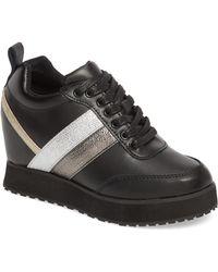 Very Volatile - Sarita Hidden Wedge Sneaker - Lyst